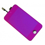 Plated Purple LCD Touch Digitizer Screen Assembly replacement for iPod Touch 4