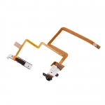 Headphone Jack Flex Cable and Hold Switch Black replacement for iPod Video 30GB