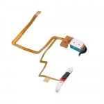 Headphone Jack Flex Cable and Hold Switch Black replacement for iPod Video 60 80GB