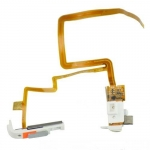Headphone Jack Flex Cable and Hold Switch White replacement for iPod Video 60 80GB