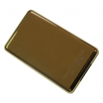 Gold Plated Rear Panel Back Cover replacement for iPod Video