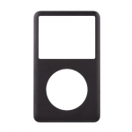 Front Cover Panel Black replacement for iPod Classic