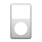 Front Cover Panel Silver replacement for iPod Classic