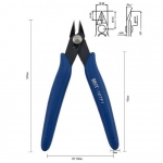 BEST BST-107f1 Diagonal Nipper Pliers with Spring