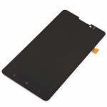 LCD with Touch Screen Assembly Black replacement for Lenovo P780