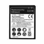 3.7V 1800mAh Battery replacement for Samsung Galaxy S2 i9100