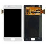 LCD with Touch Screen Digitizer Assembly replacement for Samsung Galaxy S2 i9100 White