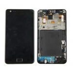 LCD Assembly with Frame replacement for Samsung Galaxy S2 i9100 Black