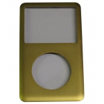 Gold Plated Front Cover replacement for iPod Classic 6th Gen