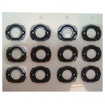 Home Button Holder Rubber Spacer for iPod Touch 4