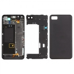 Back Cover Housing Assembly (4G) replacement for BlackBerry Z10 Black