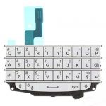 QWERTY Keypad with Keypad Board replacement White for BlackBerry Q10