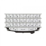 QWERTY Keypad replacement White for BlackBerry Q10