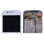 LCD with Touch Screen Digitizer Assembly White replacement for BlackBerry Q10