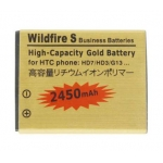 2450mAh Battery replacement for HTC Wildfire S G13 A510e HD7 HD3