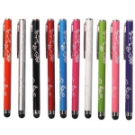 Carved Flowers Style​ Stylus Pen for Mobile Phone Tablet PC