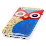 Owl Style Hard ​Case Protective Cases Cartoon for iPhone 4 4s