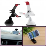 Car Suction Cup Clip 360° Adjustable Mount ​Stand Holder for Mobile Phones