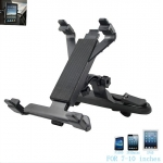 Universal Backseat Headrest Mount Holder for iPad Samsung Tablet