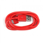 Colorful Round USB Data Sync Charger Cable for iPhone 4 4S iPad iPod