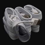 High Quality White Round USB Data Sync Charger Cable for iPhone 5/5C/5S/iPad/iPod
