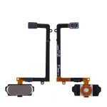 Home Button with Flex Cable Assembly replacement for Samsung Galaxy S6 Gold/Black/White