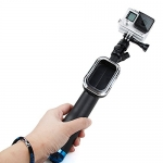 Fold Retractable Handheld Remote Pole Monopod with Screw for GoPro Hero4 / 3+ / 3