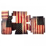 American Flag Case Sticker for Bike Airsoft GoPro HD Hero 3 Housing