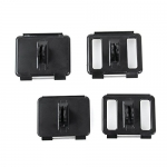 4 in 1 Plastic Backdoor Mount for GoPro Hero 4 / 3+ / 3