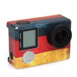 ​German / ​UK / ​EU Flag Pattern Sticker for GoPro Hero 4