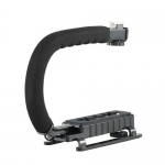 U Shape Flash Bracket Stand Handheld ​Grip Holder for GoPro & Digital Camera​
