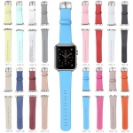 PU Colorful Strap Buckle Watchband replacement for Apple Watch