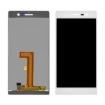 LCD with Touch Screen Digitizer Assembly replacement for Huawei Ascend P7 White/Black