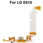 Dock Connector Charging Port Flex Cable replacement for LG Optimus L5 / E610