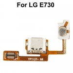 Dock Connector Charging Port Flex Cable replacement for LG Optimus Sol / E730 / E739