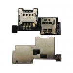 SIM Card Socket replacement for Samsung Wave 3 / S8600