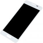 LCD with Touch Screen Digitizer Assembly replacement for Samsung Galaxy Alpha White