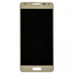 LCD with Touch Screen Digitizer Assembly replacement for Samsung Galaxy Alpha Gold