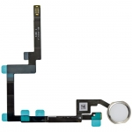 Home Button Assembly with Flex Cable Replacement for iPad Mini 3 Silver