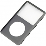 Front Cover Panel Gun metal grey Charcoal replacement for iPod Classic