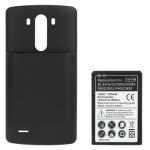 Back Cover with 7200mAh Thick Battery Replacement for LG G3 D855