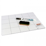 Jakemy JM-Z09 25cm x 20cm Magnetic Project Mat with Marker Pen