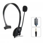 Wired Headset with Microphone and Volume Control for PS4