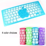 4 Colors Silicone Keyboard Protector Film for Macbook Air/Pro/Retina