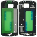 Black Plastic Middle Plate replacement for Samsung Galaxy S6