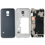 Full Back Cover Housing replacement for Samsung Galaxy Alpha/G850 Black/White