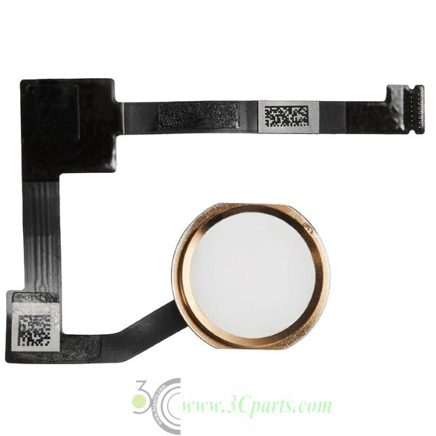 "Home Button Assembly with Flex Cable Ribbon Replacement for iPad Pro 12.9"" ​​Gold"