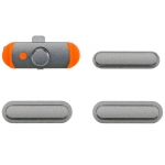 Side Buttons Set Replacement for iPad mini 3 Grey