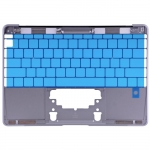 "Upper Case US-Layout Replacement for MacBook 12"" A1534 2015year Gray"