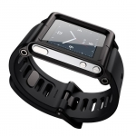 Aluminum Bracelet for iPod Nano 6 Black